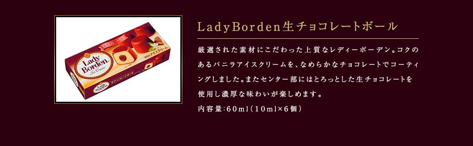 LadyBorden生チョコレートボール