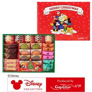 【送料無料】ディズニーデザイン クリスマスギフト(35個入)【銀座コージーコーナー】